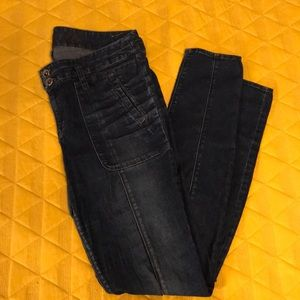 Madewell Front Seam Skinny Jeans